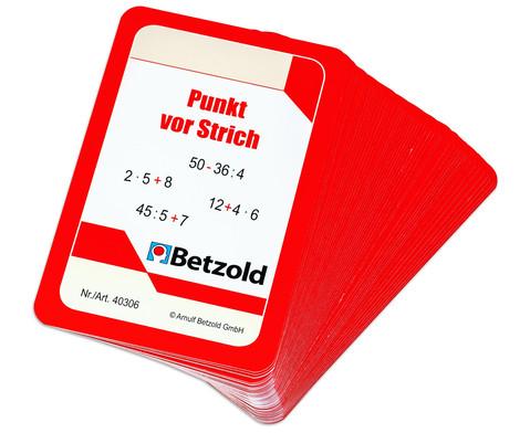 Kartensatz fuer den Magischen Zylinder - Punkt vor Strich-2