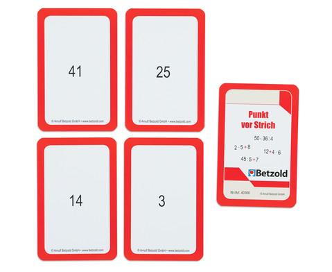 Kartensatz fuer den Magischen Zylinder - Punkt vor Strich-4