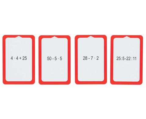 Kartensatz fuer den Magischen Zylinder - Punkt vor Strich-5