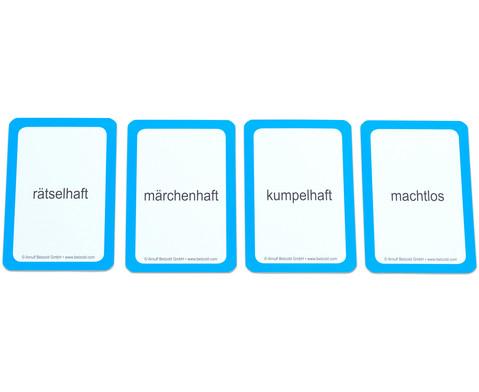 Endung gesucht - Kartensatz fuer den Magischen Zylinder-4