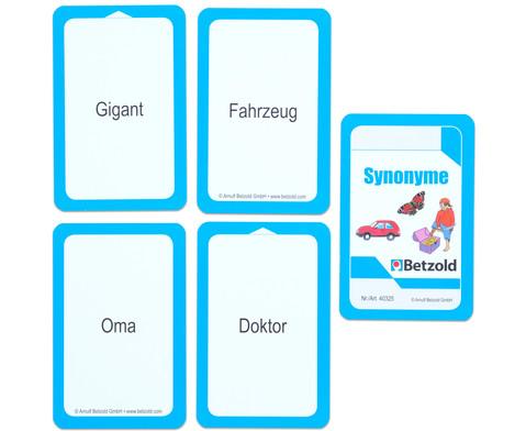 Kartensatz fuer den Magischen Zylinder - Synonyme-6
