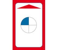 Kartensatz für den Magischen Zylinder - Einfache Brüche erkennen und benennen