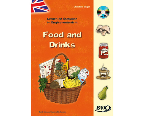 Lernen an Stationen im Englischunterricht - Food and Drinks-1