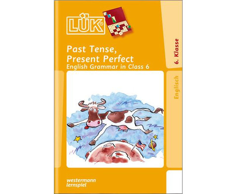 LUEK Present Perfect Past Tense ab 6 Klasse-1