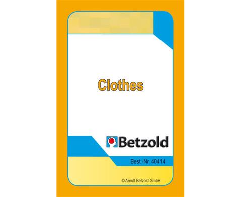 Clothes - Kartensatz fuer den Magischen Zylinder