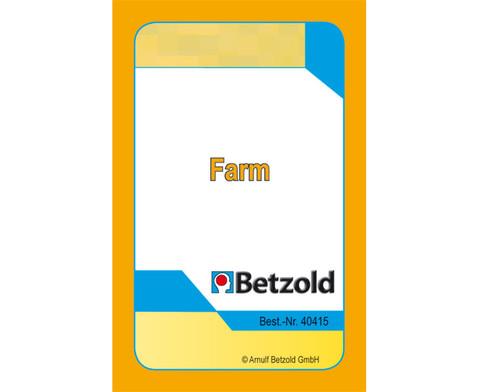 Kartenspiel fuer Magischen Zylinder On a Farm