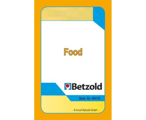 Kartenspiel fuer Magischen Zylinder Food-1