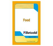 Kartenspiel für Magischen Zylinder, Food