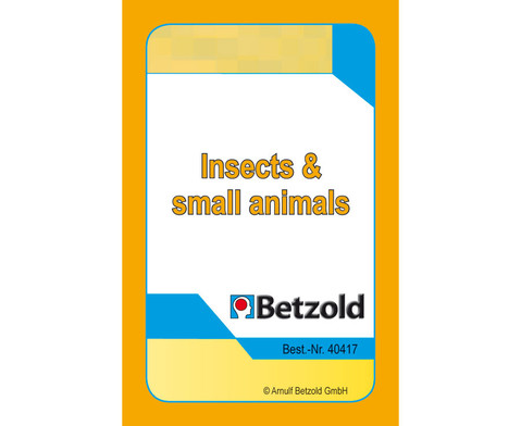 Insects and Small Animals - Kartensatz fuer den Magischen Zylinder