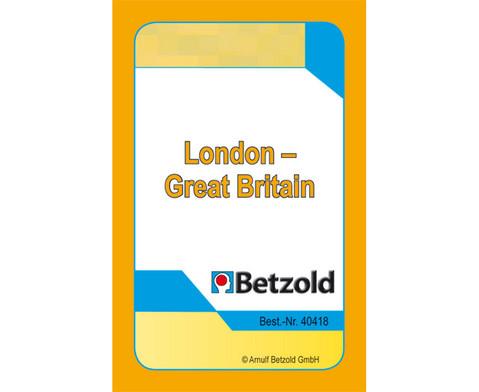 London und Great Britain - Kartensatz fuer den Magischen Zylinder