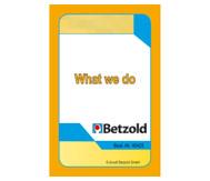 What we do - Kartensatz für den Magischen Zylinder