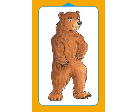 Kartenspiel fuer Magischen Zylinder Wild Animals-2