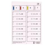 Colorclip: Malnehmen mit Zahlen bis 10, Kleines 1 x 1