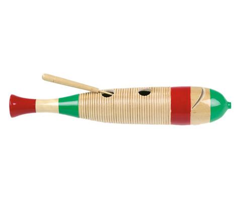 Betzold Musik Mexikanisches Holzguiro Fischform