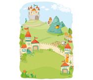 Magnet-Wandspiel Drachenritter