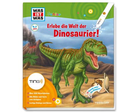 WAS IST WAS Junior Ting Erlebe die Welt der Dinosaurier-1