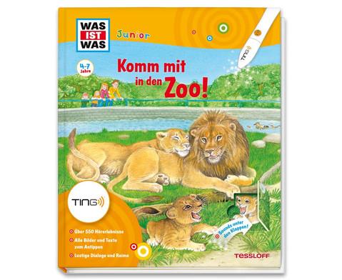 WAS IST WAS Junior Ting Komm mit in den Zoo-1