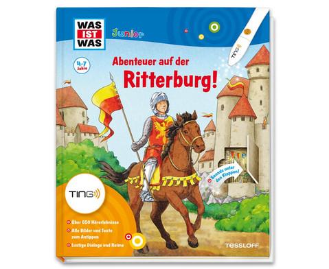 WAS IST WAS Junior Ting Abenteuer auf der Ritterburg-1