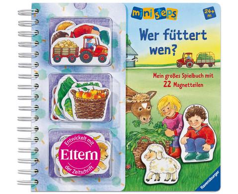 Magnetspielbuch Wer fuettert wen-1