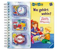 """Magnetspielbuch """"Was gehört wohin?"""""""