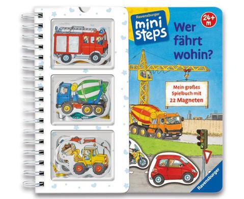 Magnetspielbuch Wer faehrt wohin