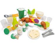 Geschirr- und Essensset, 53 Teile