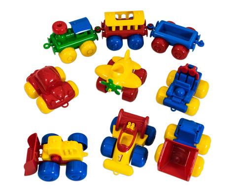 edumero Fahrzeuge, 9 Stück
