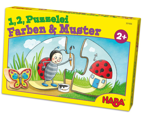 12 Puzzelei - Farben  Muster-1