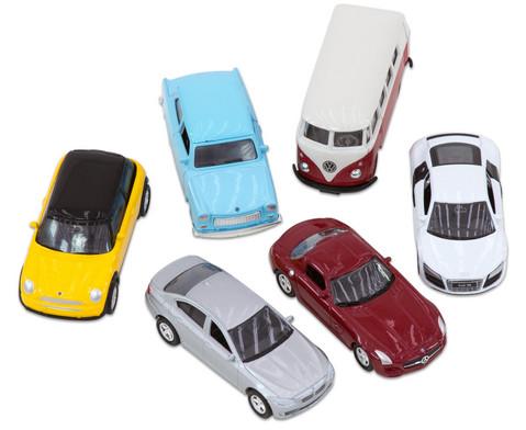 6 verschiedene Modellautos 160-1