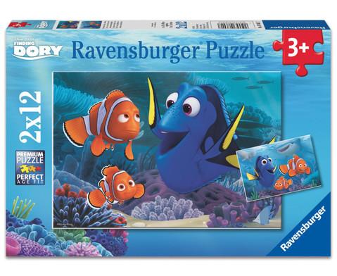 Findet Dorie Puzzle Dorie unterwegs im Meer-1