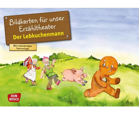 Der Lebkuchenmann Kamishibai-Bildkartenset
