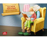 Bildkarten: Opa und ich Hand in Hand