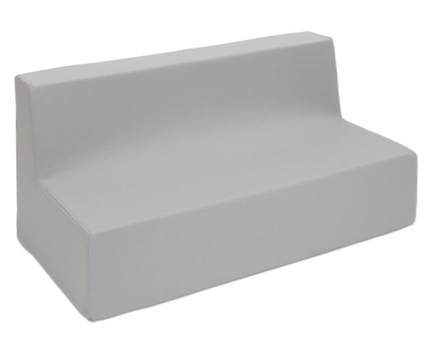 Sofa mit Rueckenlehne Webstoff-6