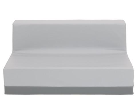Sofa mit Rueckenlehne Kunstleder-9