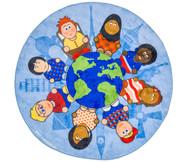 Kinder der Welt - Teppich mit Spielwürfel
