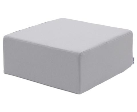 Hocker quadratisch Webstoff-9