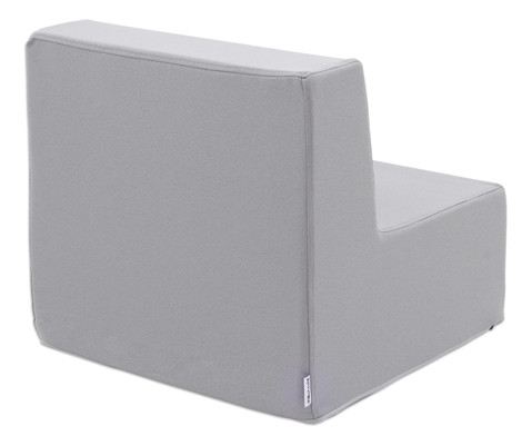 Sessel mit Lehne Webstoff-7