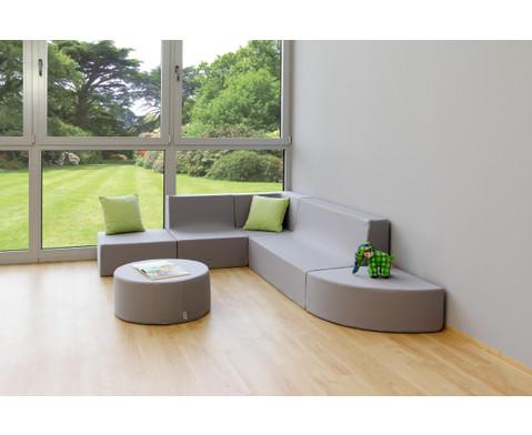 Sessel mit Lehne Webstoff-10