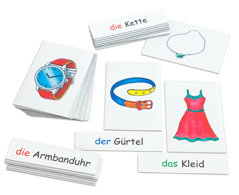 Flash Cards - Kleidung-2