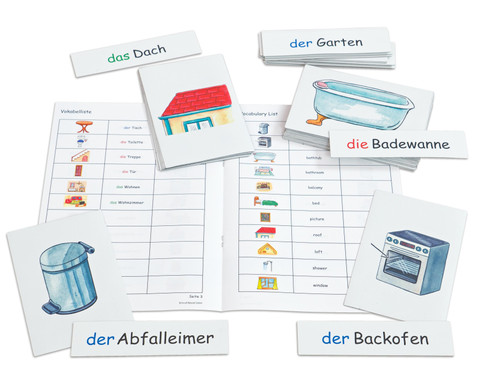 Flash Cards - Im Haus-1