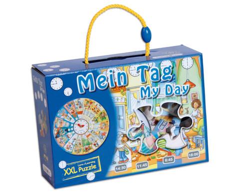 XXL Lernpuzzle Mein Tag-2