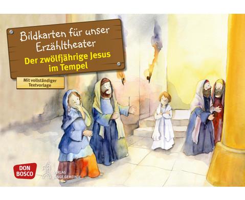Bildkarten Der zwoelfjaehrige Jesus im Tempel