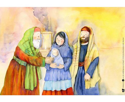 Bildkarten Der zwoelfjaehrige Jesus im Tempel-3