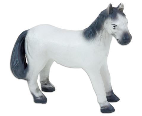 Pferd grau Naturkautschuk