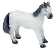 Pferd, grau, soft, 15,5 cm