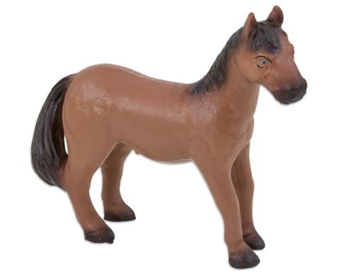 Pferd braun soft 155 cm