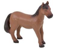Pferd, braun, soft, 15,5 cm