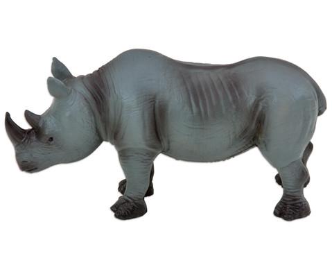 Nashorn m Naturkautschuk