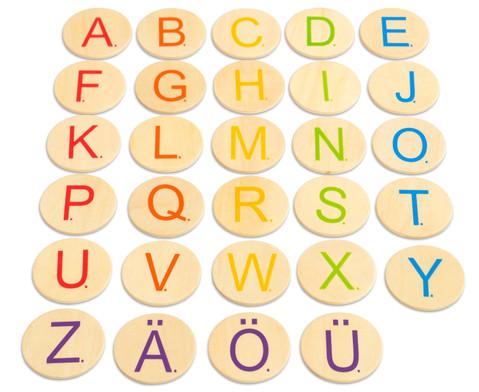 Buchstaben-Chips 58 Stueck