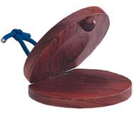 Kastagnette aus Hartholz